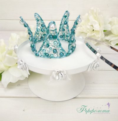Голяма корона с перли