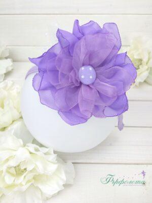 Диадема с цвете