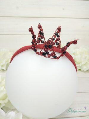 Корона с перли и кристали
