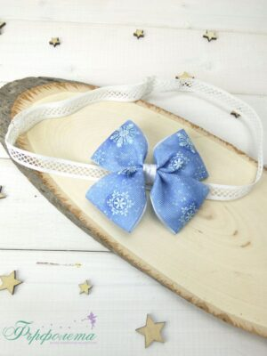 Коледна бебешка лента