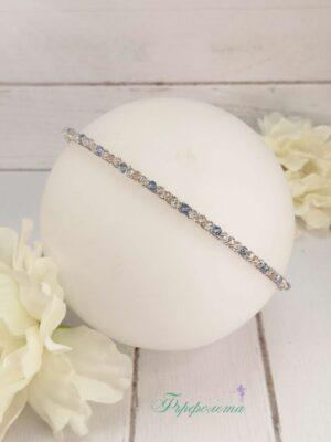 диадема с кристали