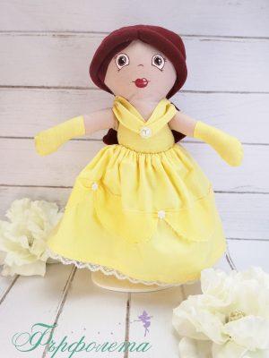 Ръчно изработена кукла Бел