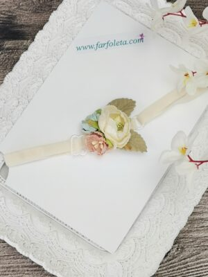 Ръчно изработена бебешка лента